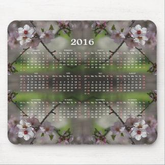 Körsbäret blomstrar kalendern 2016 mus mattor