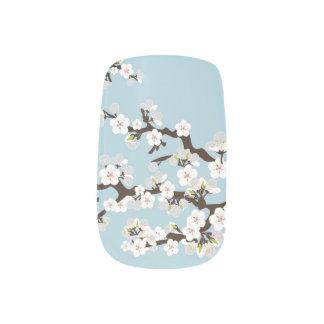 Körsbärsröda blått för himmel för blommarSakura Nagel Decaler