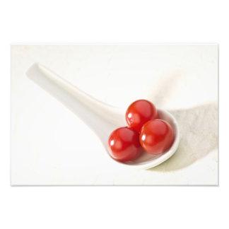 Körsbärsröda tomater 3 fototryck