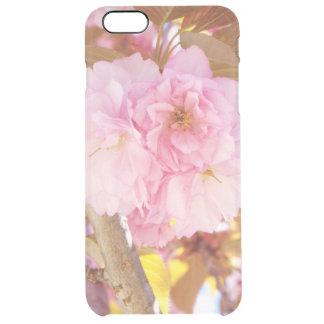 Körsbärsrött blommafodral för plus för iPhone 6/6S Clear iPhone 6 Plus Skal