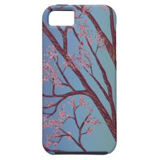Körsbärsrött blommarträd - konstfodral för iPhone iPhone 5 Fodraler