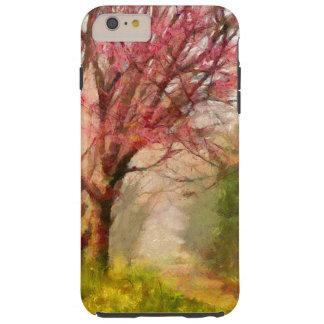 Körsbärsrött blommarträd tough iPhone 6 plus skal