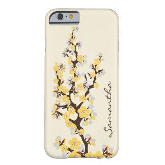 Körsbärsrött fodral för blommariPhone 6 (gult) Barely There iPhone 6 Fodral