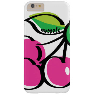 Körsbärsrött fodral för plus för Swoozle knappt Barely There iPhone 6 Plus Skal