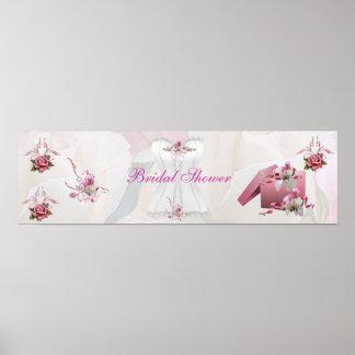 Korsett för rosor för banermöhippavit poster