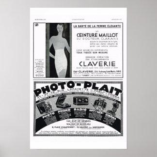 Korsetter foto-fläta poster