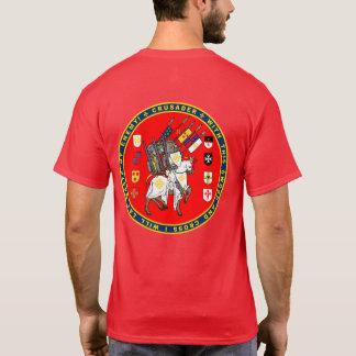 Korsfarare på mars förseglar skjortan t-shirt