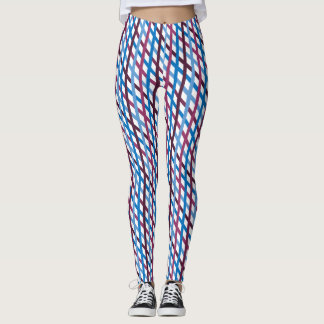Korsmönstrad Applesauce Leggings