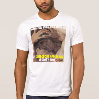 Korsmönstrad Applesauce T-shirts