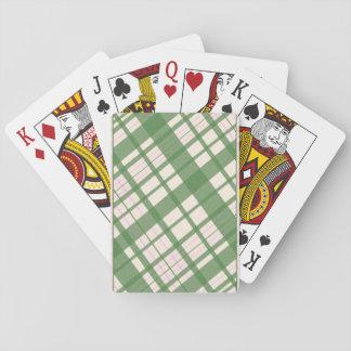 Korsmönstrat Spel Kort