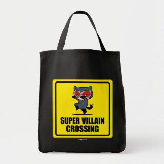 Korsningen för villainen för den Chibi catwomanen Mat Tygkasse