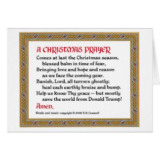 Kort #2 för julbön (Donald Trump)