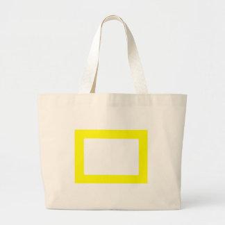 kort 7X5 med inre Conors Transp för runda gult Tote Bag