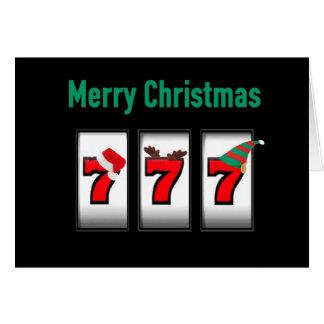 Kort för 777 god jul