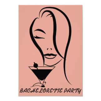 Kort för Bachelorette partyinbjudan 8,9 X 12,7 Cm Inbjudningskort