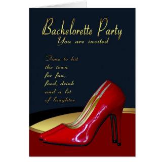 Kort för Bachelorette partyinbjudan - Bachelorette