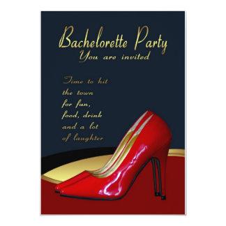 Kort för Bachelorette partyinbjudan - Bachelorette 12,7 X 17,8 Cm Inbjudningskort