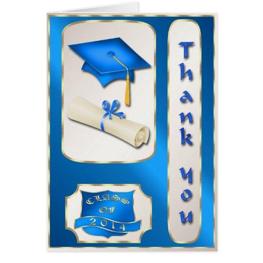 Kort för blått- och guldstudententack