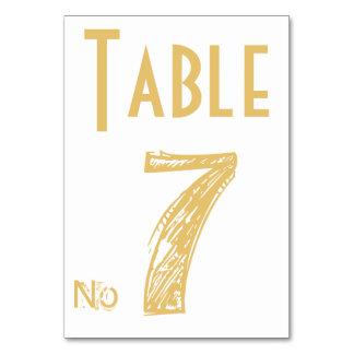 Kort för bord för personlig för
