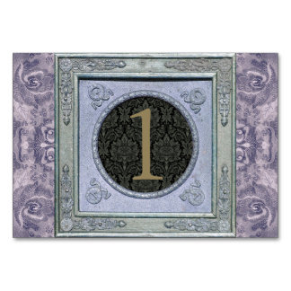 Kort för bord för Tapestry för vintageram
