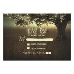 kort för bröllop OSA för nattlyktor romantiskt Anpassade Inbjudningskort
