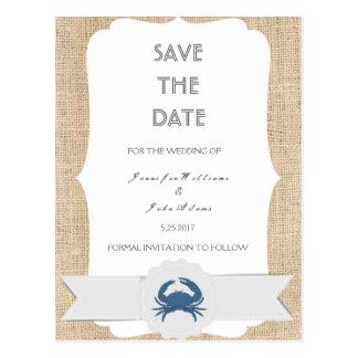 Kort för bröllop spara datum för