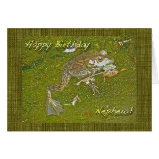 Kort för Bullfrogbrorsonfödelsedag