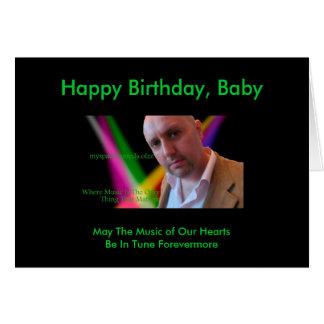 Kort för DJColzz noveltyfödelsedag