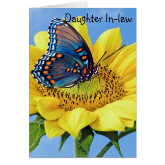 Kort för dotterI-lag hälsning