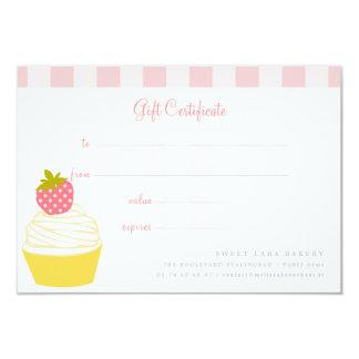 Kort för gåva för Retro söt muffins för bageriCafe 8,9 X 12,7 Cm Inbjudningskort