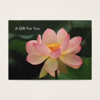 Kort för gåva för terapeut för massage för