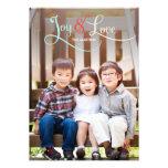 Kort för glädje- & kärlekhelgdagfoto