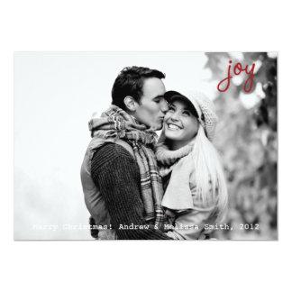 Kort för glädjefotohelgdag med kuvertet 12,7 x 17,8 cm inbjudningskort