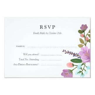 Kort för Golightly (specificerat) blom- 8,9 X 12,7 Cm Inbjudningskort