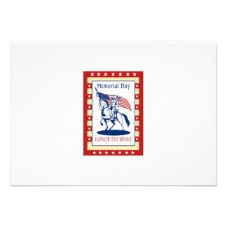 Kort för hälsning för affisch för amerikanpatriotm kort för inbjudningar