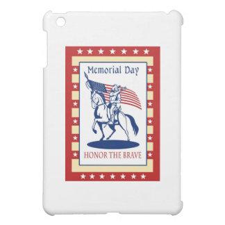 Kort för hälsning för affisch för amerikanpatriotm iPad mini skydd