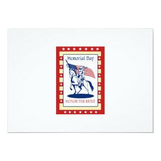 Kort för hälsning för affisch för 12,7 x 17,8 cm inbjudningskort