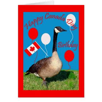 Kort för hälsning för Kanada dagfödelsedag