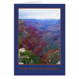 Kort för hälsning för kant för Arizona grand