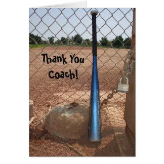 Kort för hälsning för tacklagledarebaseball