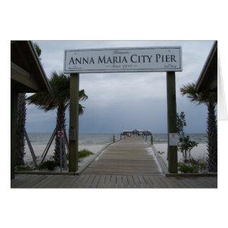 Kort för hälsningar för Anna Maria öpir