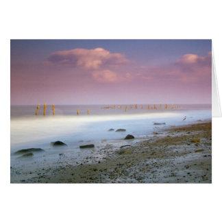 """""""Kort för hälsningar för den Norfolk kusten"""" Hälsningskort"""