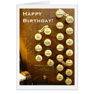 Kort för idealorganfödelsedag