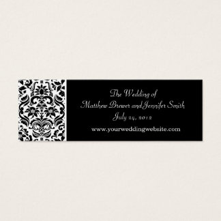 Kort för information om bröllopWebsite