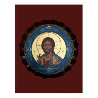 Kort för KristusPantocrator bön