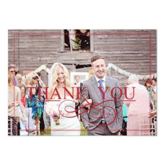 Kort för ladugårdbröllopTACK Anpassningsbara Inbjudningskort