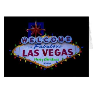 Kort för Las Vegas god julljus