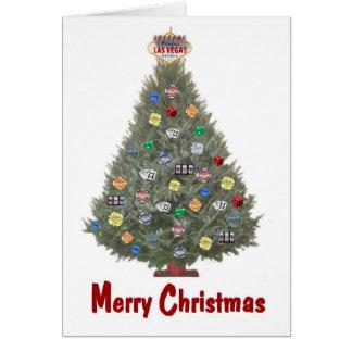 Kort för Las Vegas god julträd
