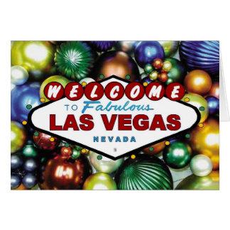 Kort för Las Vegas julprydnad