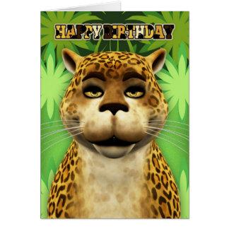 Kort för Leoparddjungelfödelsedag